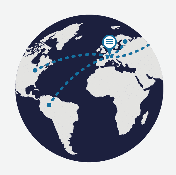 60% of  turnover arrives from international sources